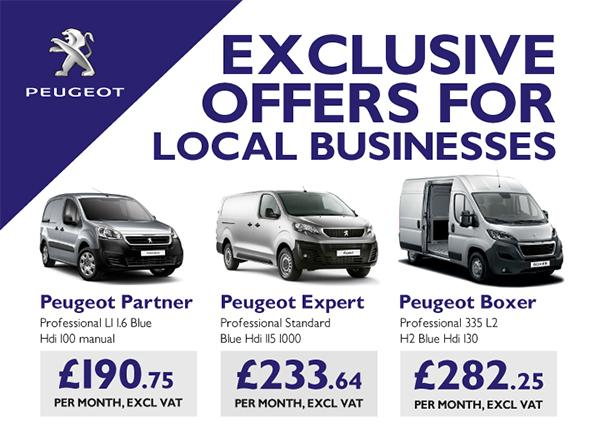 Peugeot Fleet Van Offers