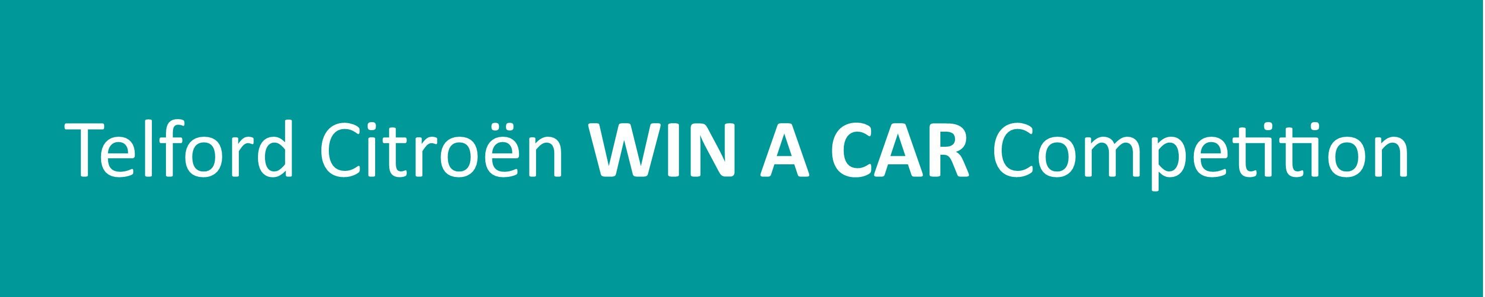 Win a Car Competotion - Budgen Motor Group