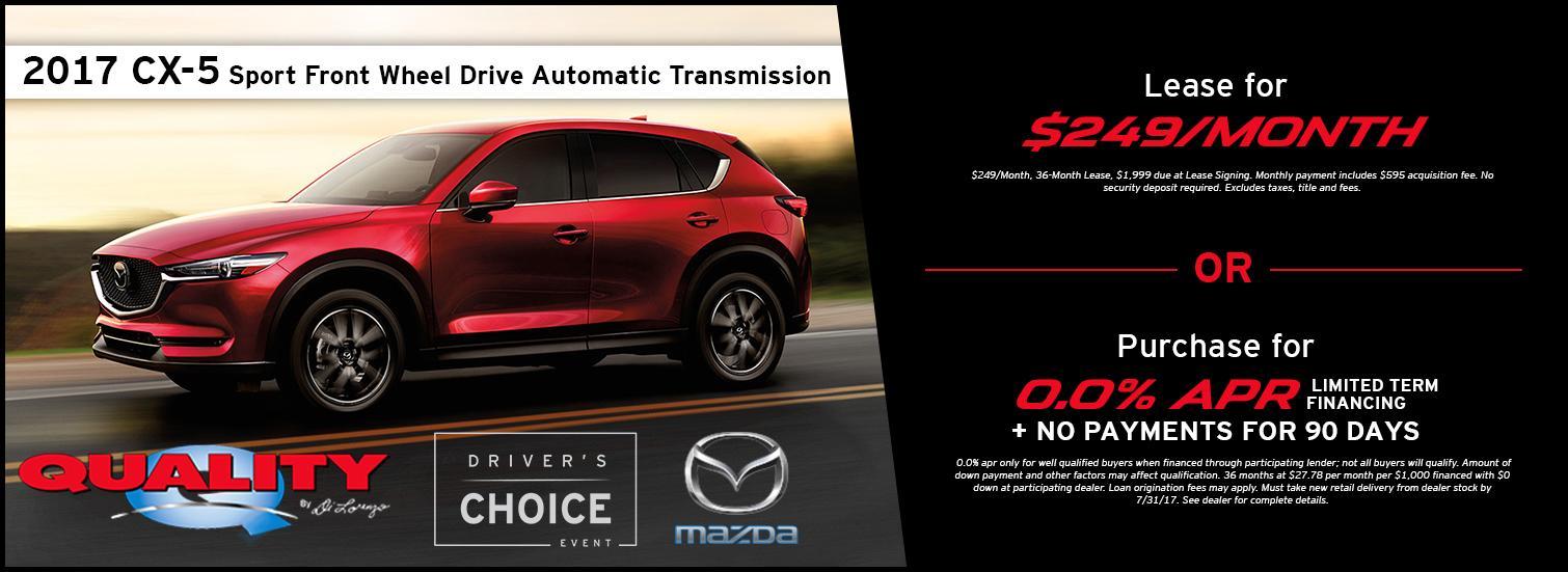 2017 Mazda CX-5 Special