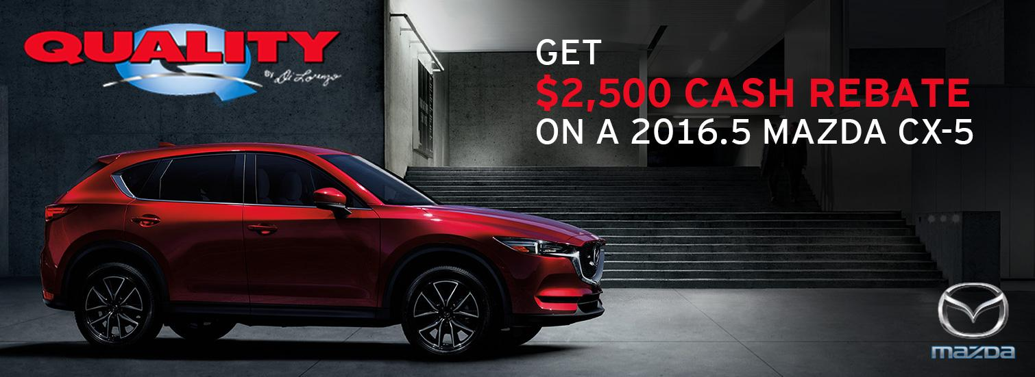 Mazda CX-5 2016.5 Rebate slide
