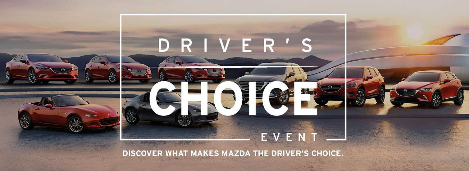Mazda Driver's Choice Sales Event