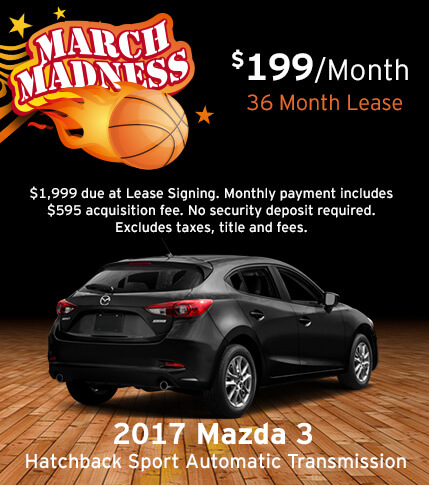 Mazda3 5-Door Hatchback Special