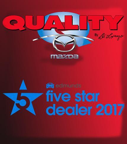 Quality Mazda 2017 Edmunds 5 Star Dealer