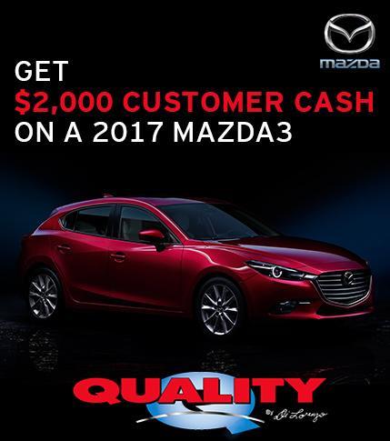 2017 Mazda3 Special