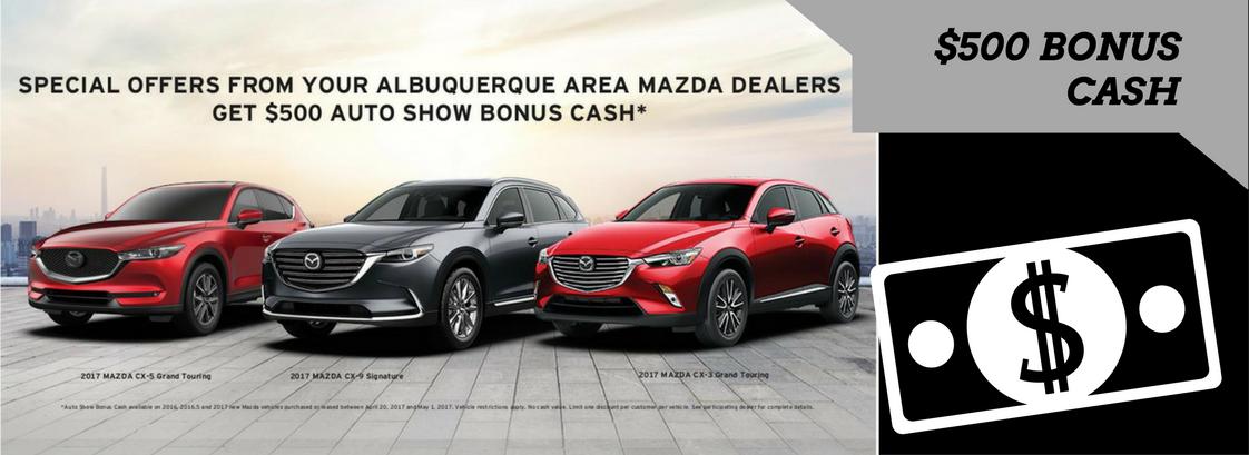 2017 auto show rebate