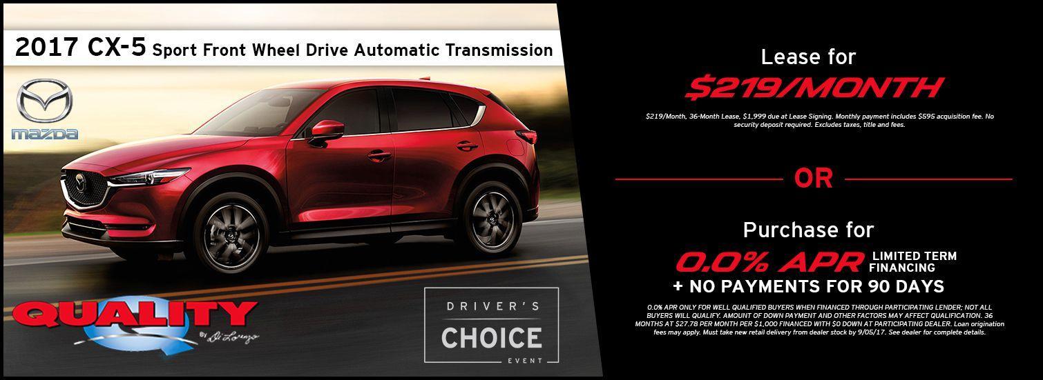 2017 CX-5 Offer