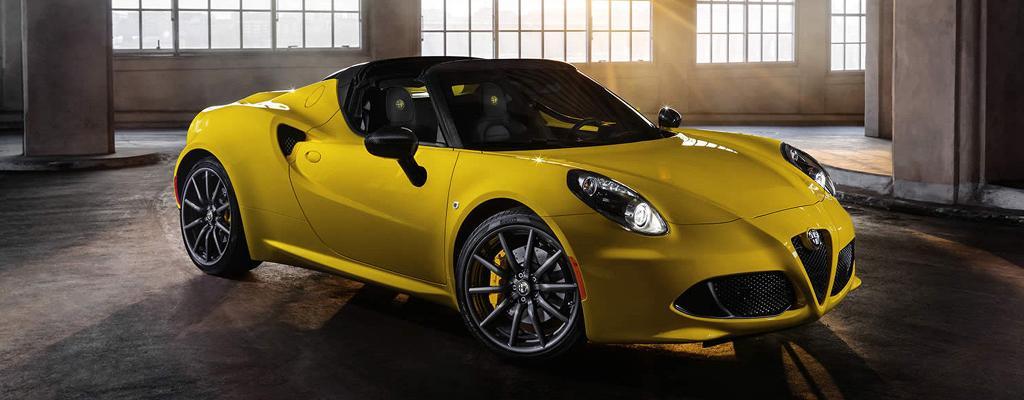 2017 Alfa 4C Spider