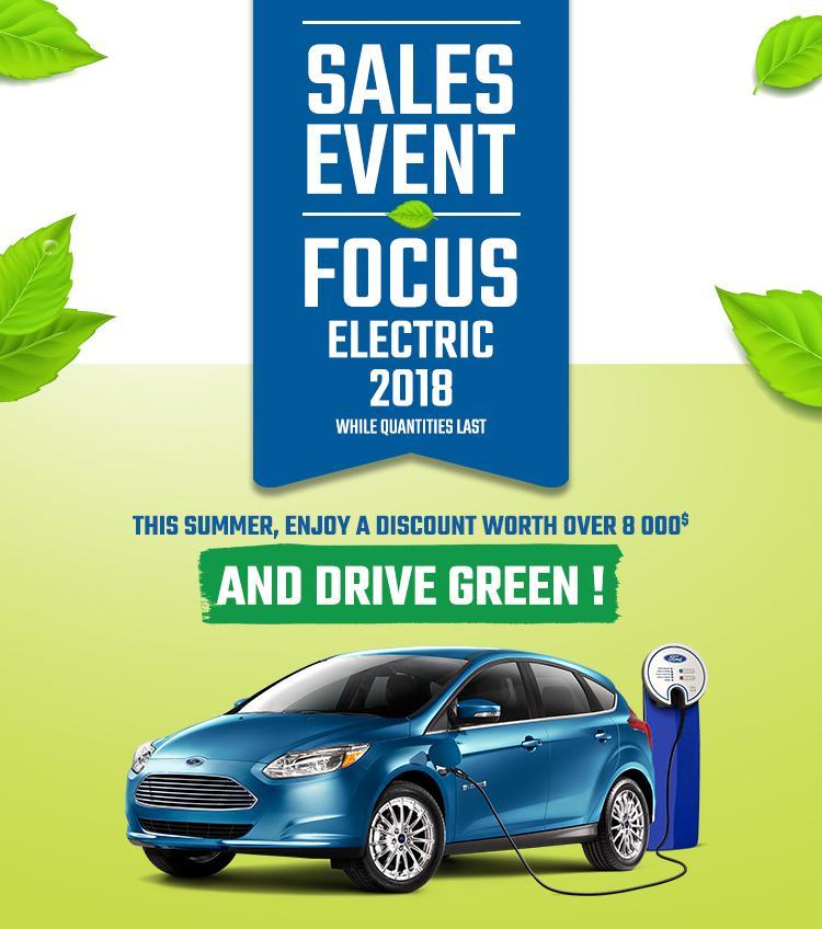 Focus Electric - Sales Event
