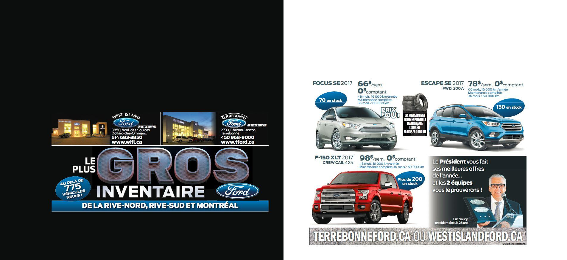 Promotions Terrebonne