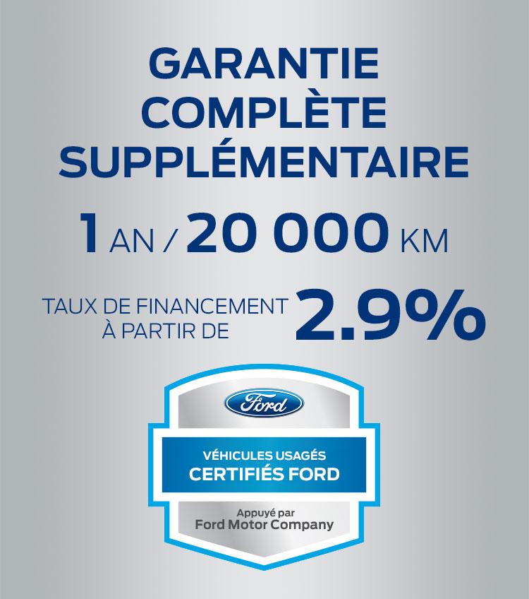 garantie certifiee