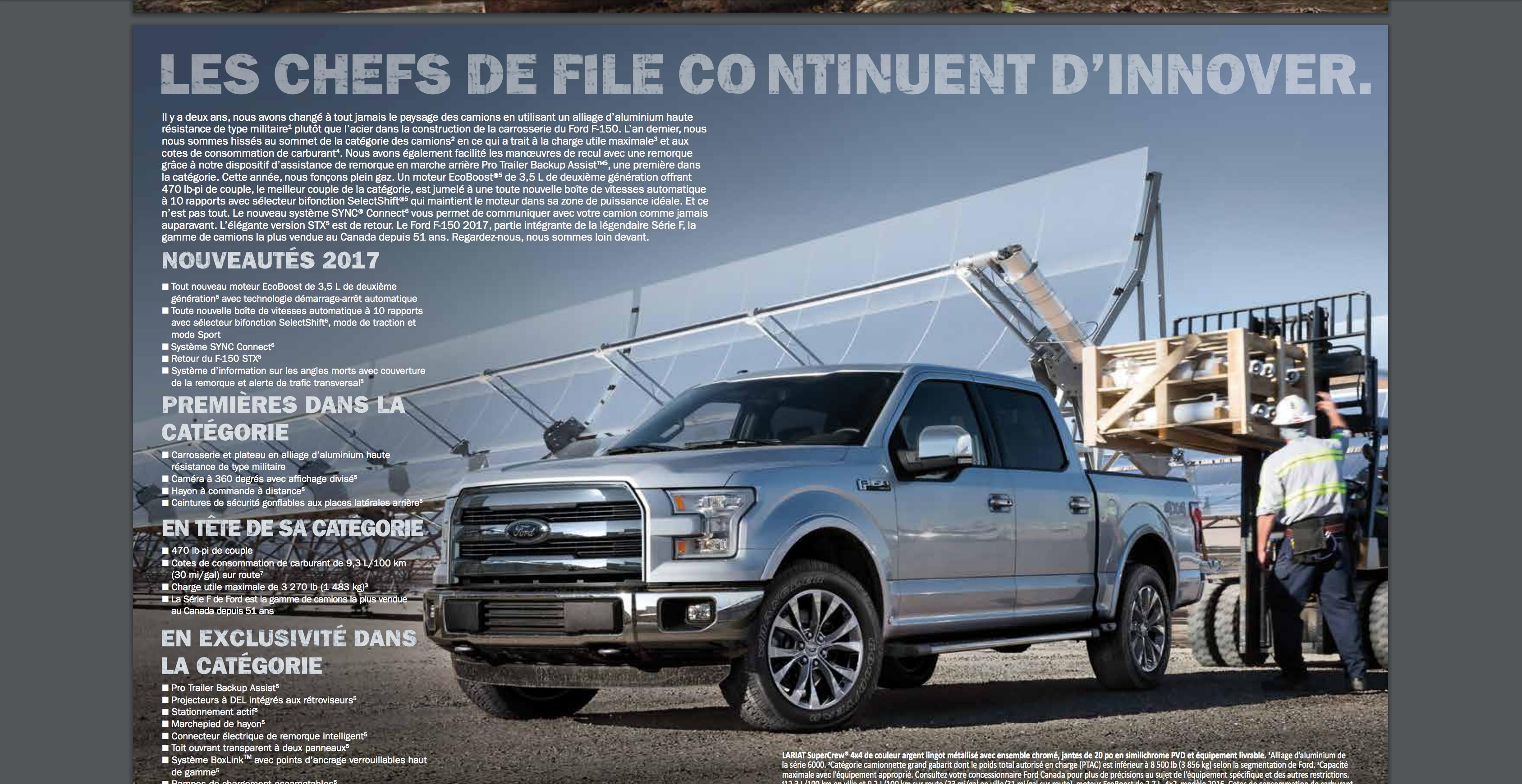 Ford prend le virage vert