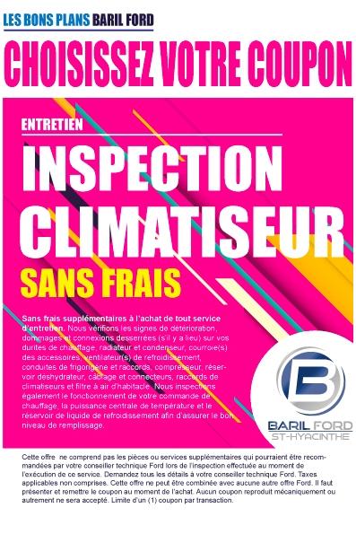 Inspection Climatiseur