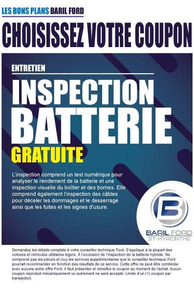 Inspection Batterie