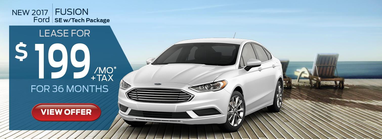 2017 Fusion Lease Offer