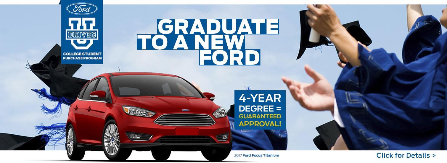 ford drives u college grad