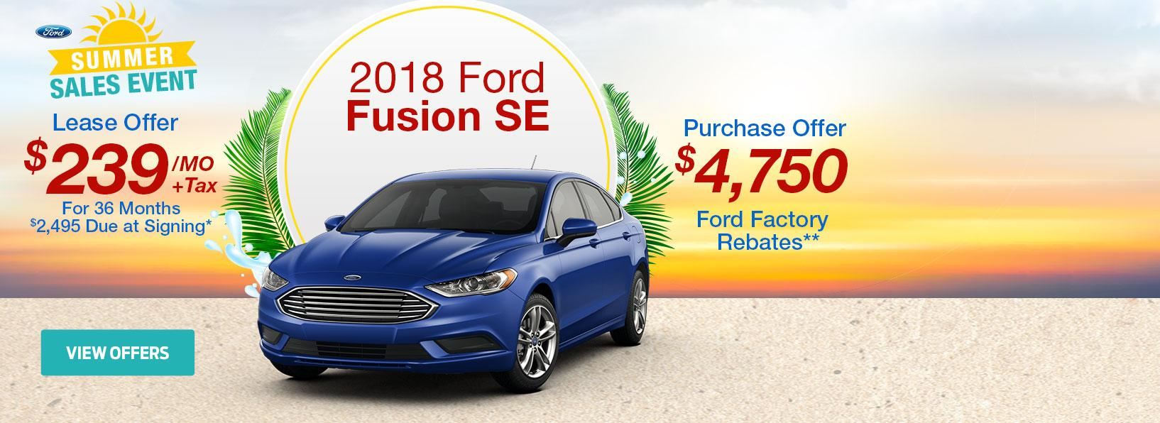 Summer Sales Event Fusion