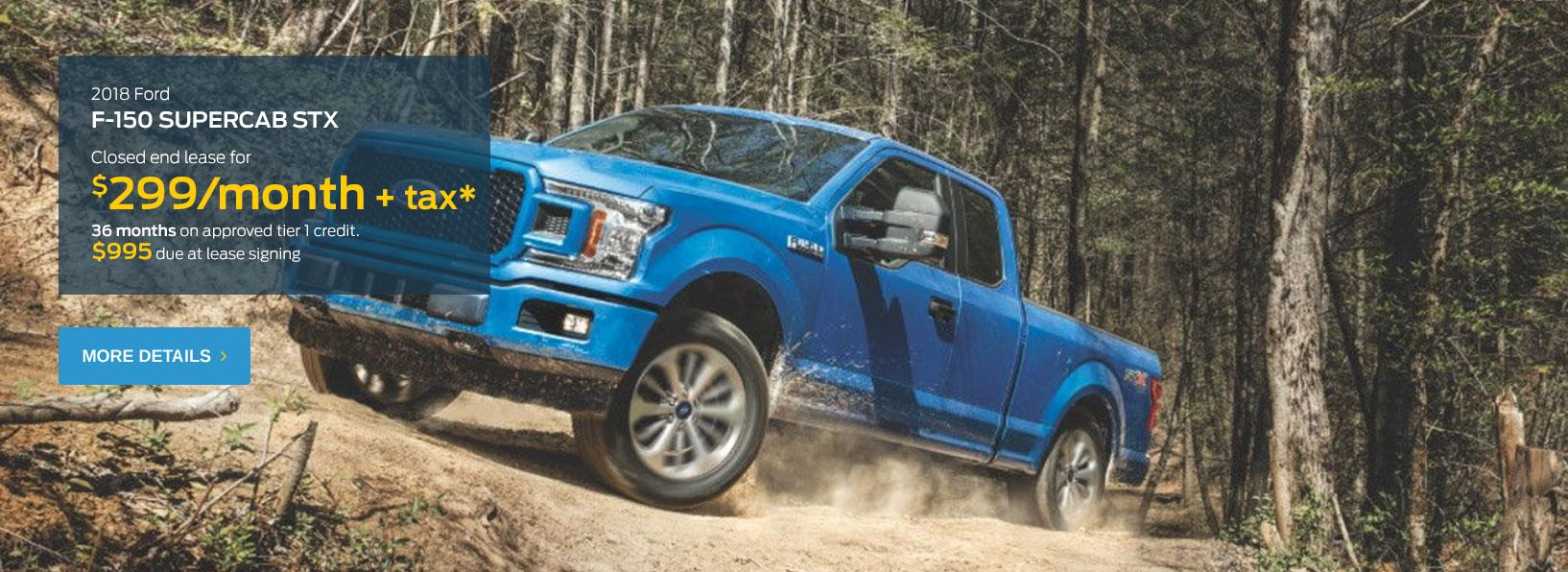 F-150 STX Lease Offer