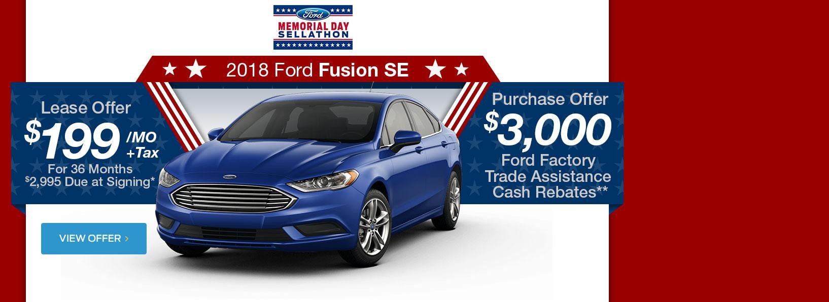 Fusion Memorial Day Sale
