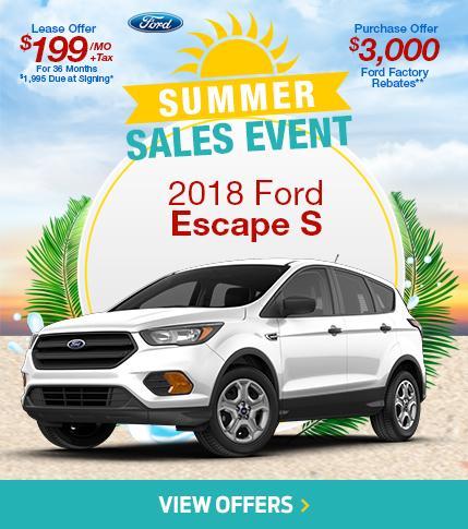 Summer Sales Event Escape
