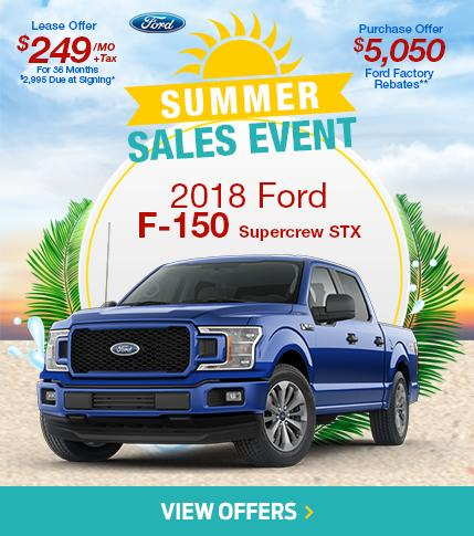 Summer Sales Event F-150