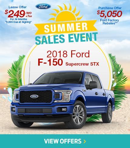 Summer Sales Event F-150