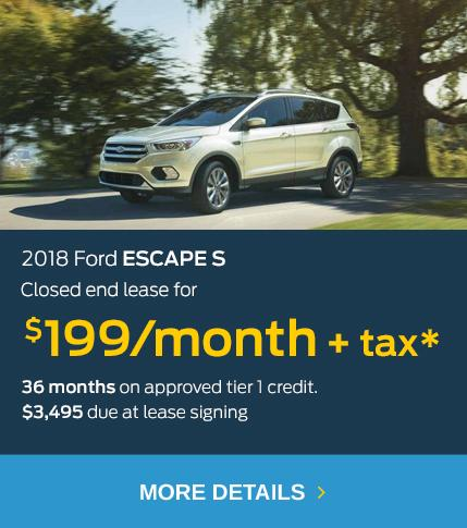 Escape Lease Offer