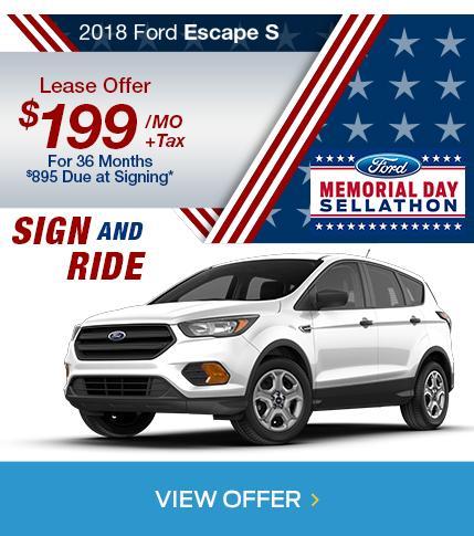 Escape Memorial Day Sale
