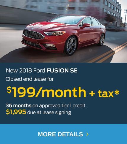 2018 Fusion $199 Lease