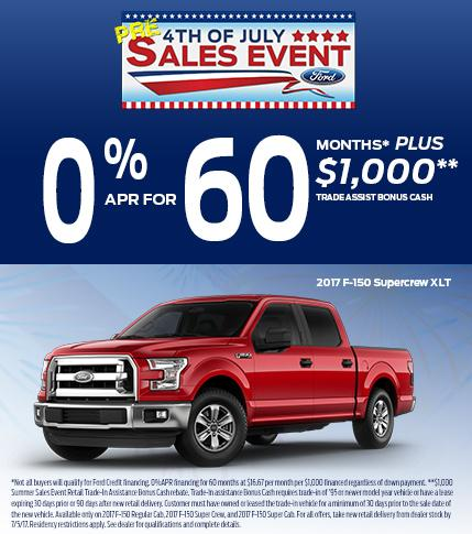 0% APR for 60 Months + $1,000!