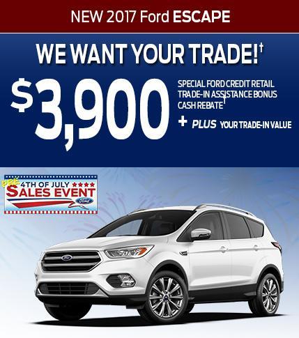 $3900 Escape Trade Assist
