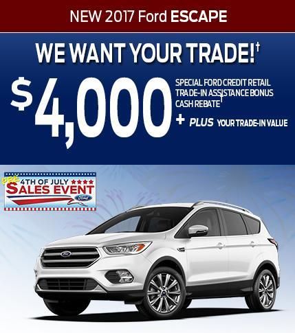 $4000 Escape Trade Assist