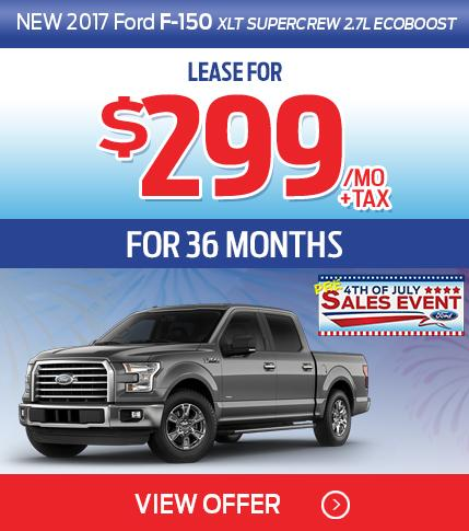 F-150 $299 Lease Special