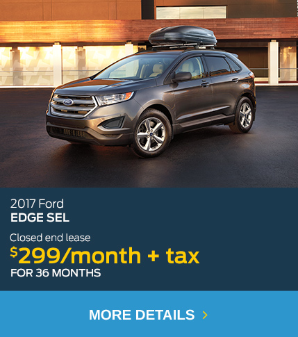 2017 Ford Edge SEL Lease $299/month