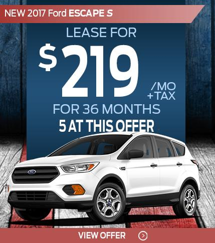 Pre Memorial Day Escape Lease Special