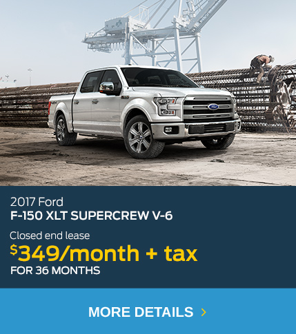 2017 Ford F-150 Lease $349/month