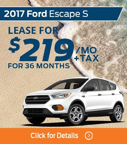 $219 Escape Lease