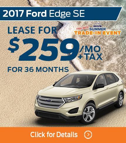 2017 Ford Edge Lease