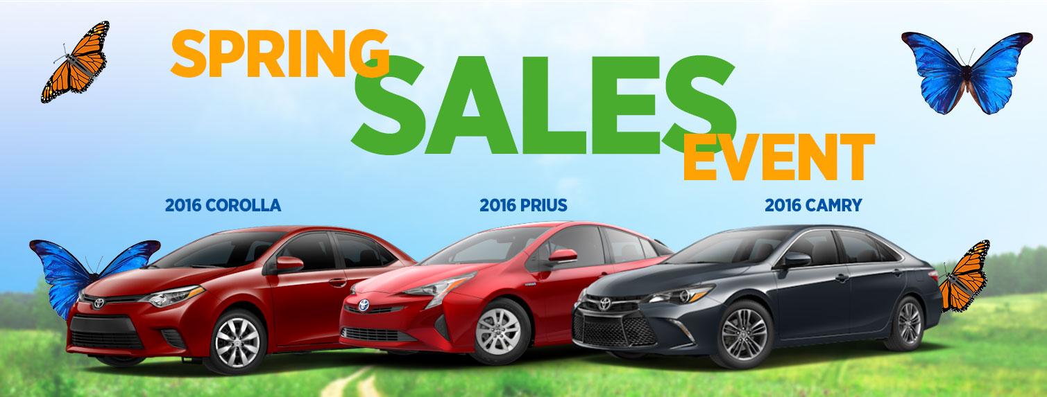 Spring Sales Event