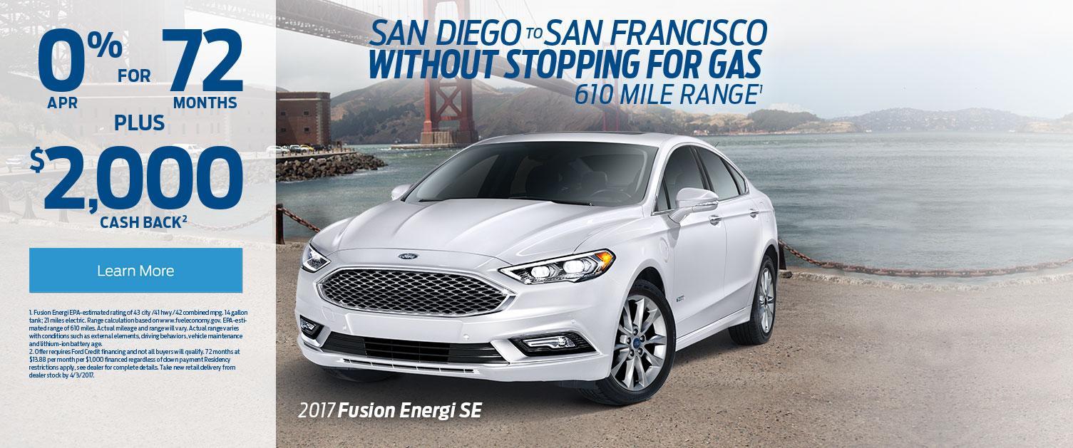 2017 Fusion Energi SE Offer