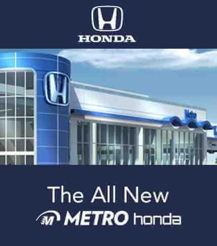 The All New Metro Honda