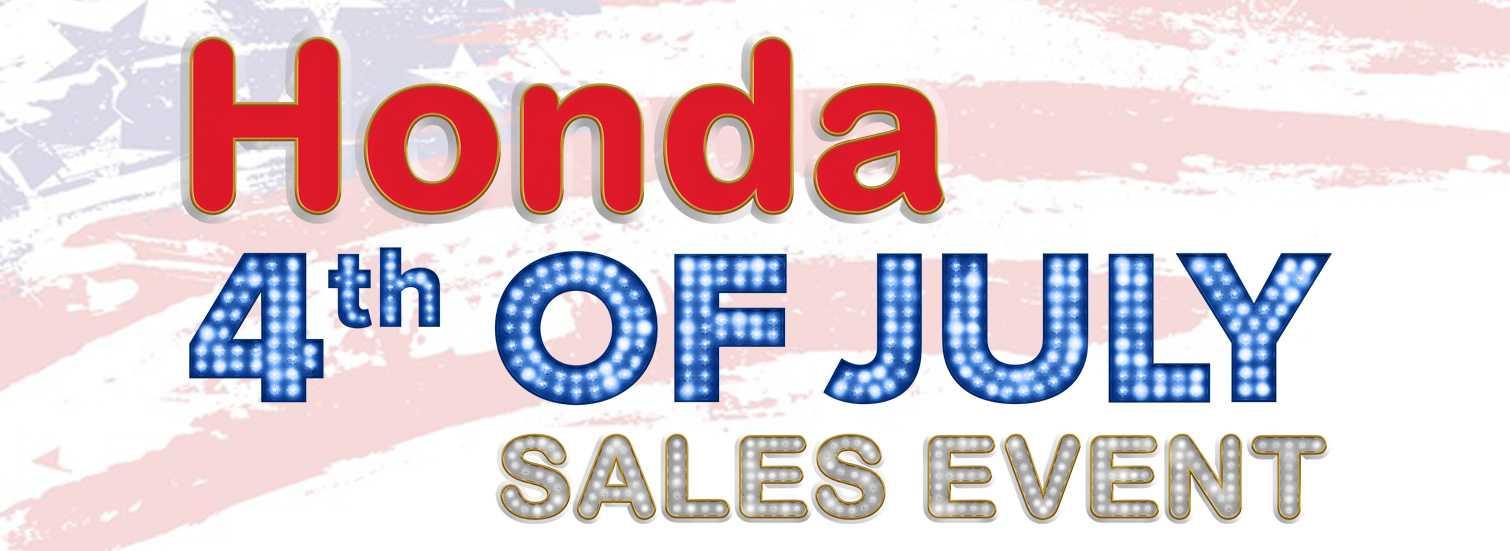 Honda July 4th