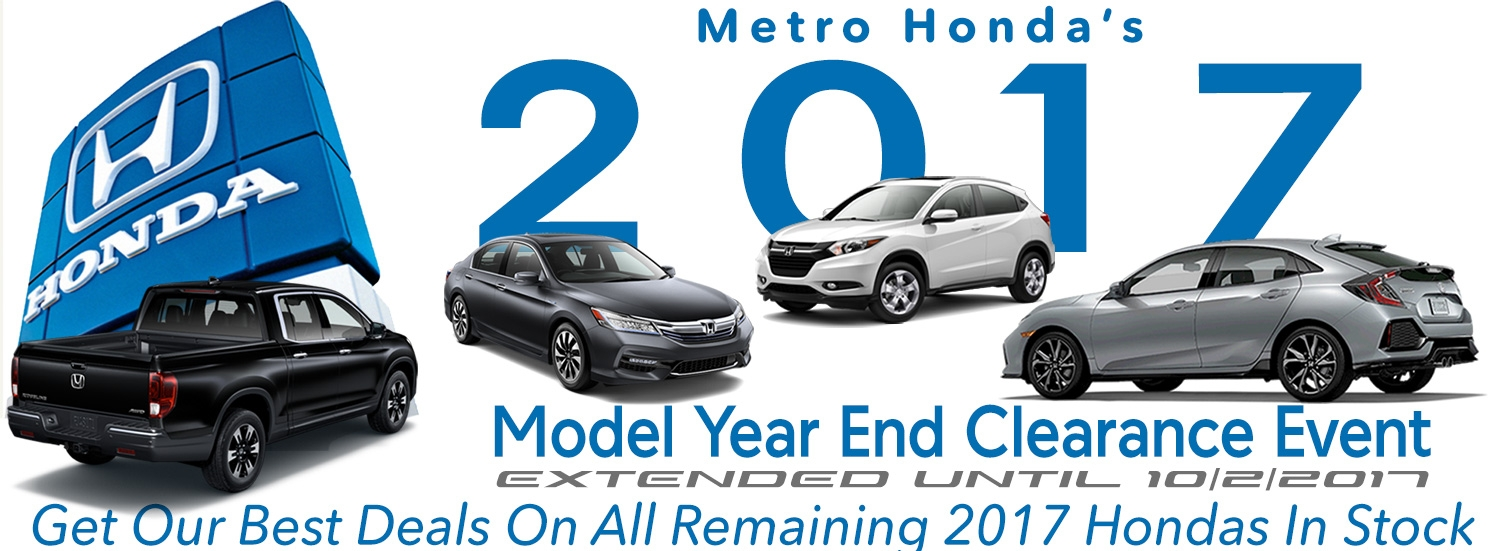 Honda dealership in montclair serving the honda sales for Metro honda service