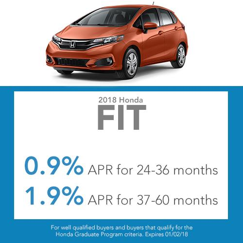 2018 Fit Finance Offer