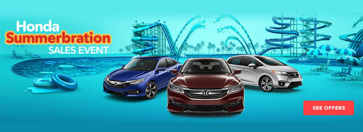 Honda Summerbration Sales Event
