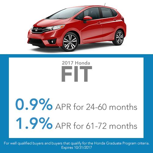 2017 Fit Finance Offer