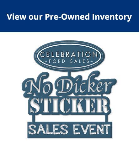 No Dicker Sticker Sale