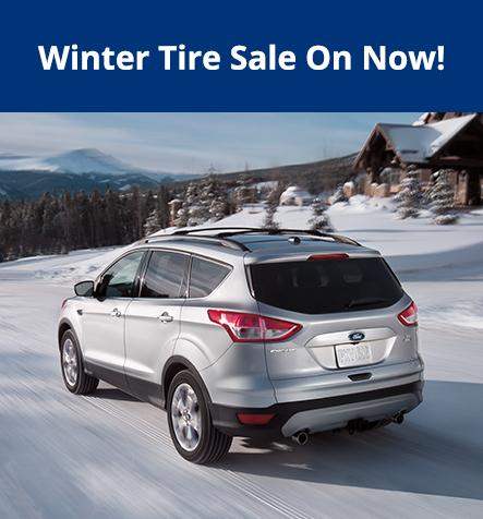 Winter Tires on Sale at Celebration Ford
