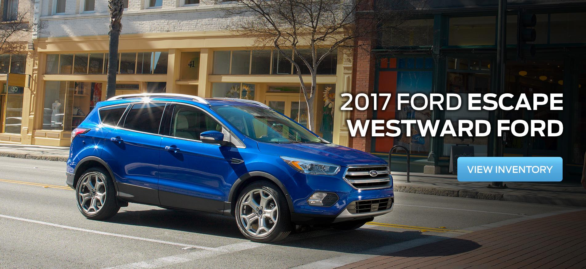 Escape 2017 Westward Ford