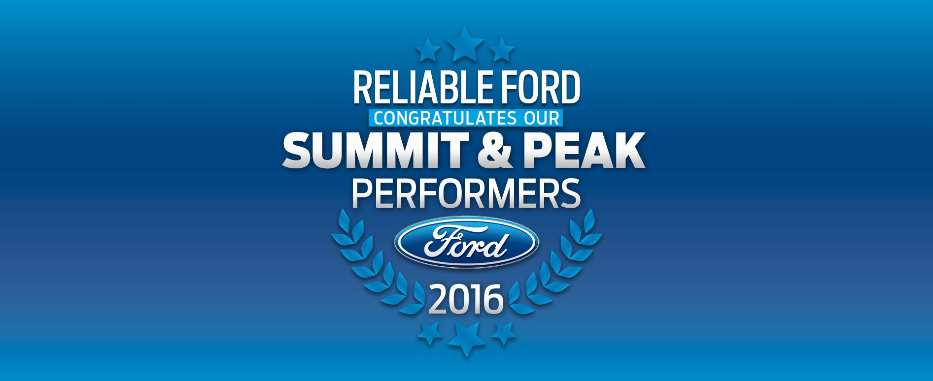 Summit and Peak Reliable Motors