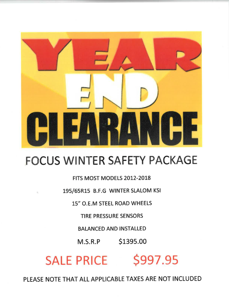 Parts Offer Rockland Ford